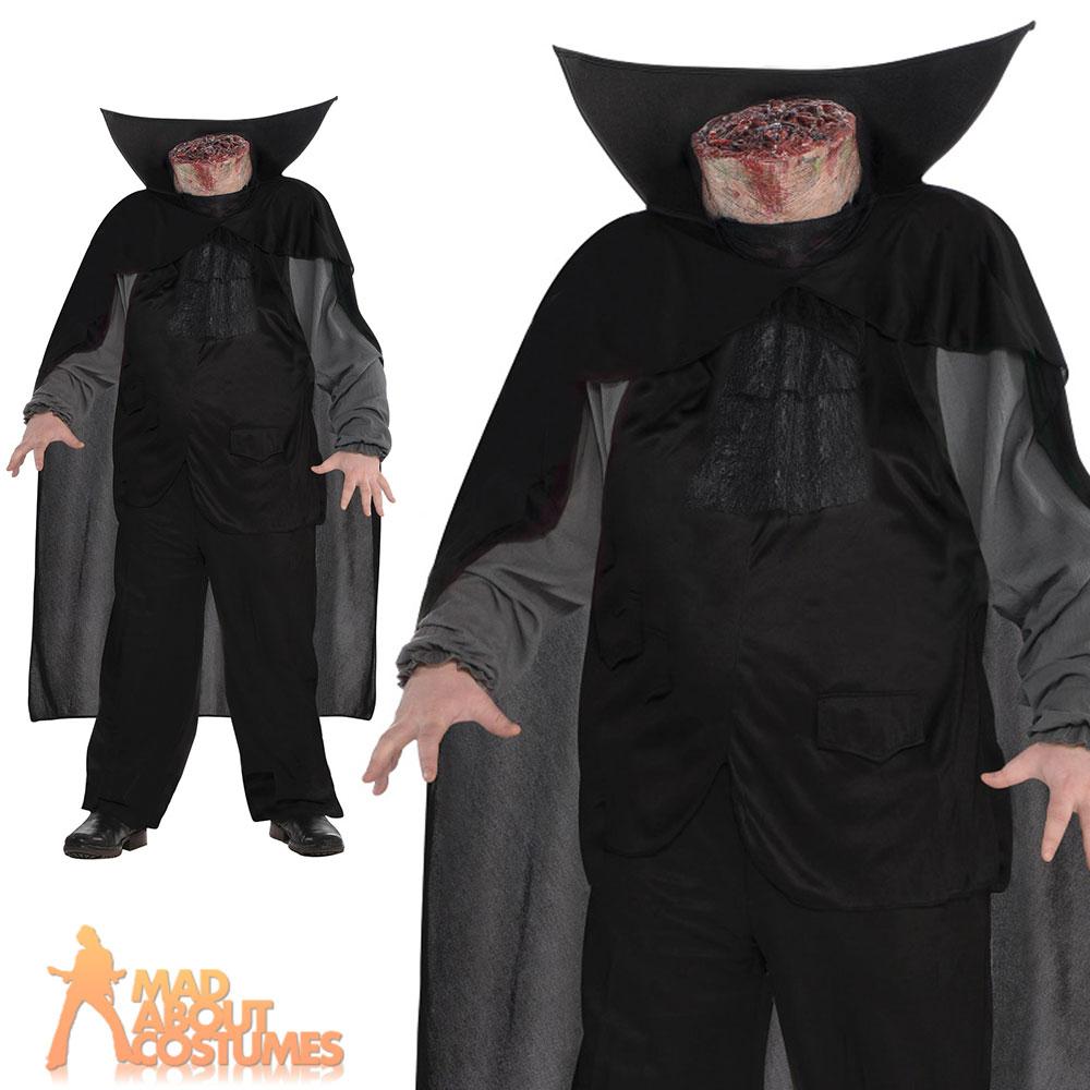 adult mens male headless horseman halloween outfit fancy dress