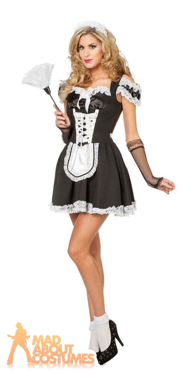 Sexy french maid dress