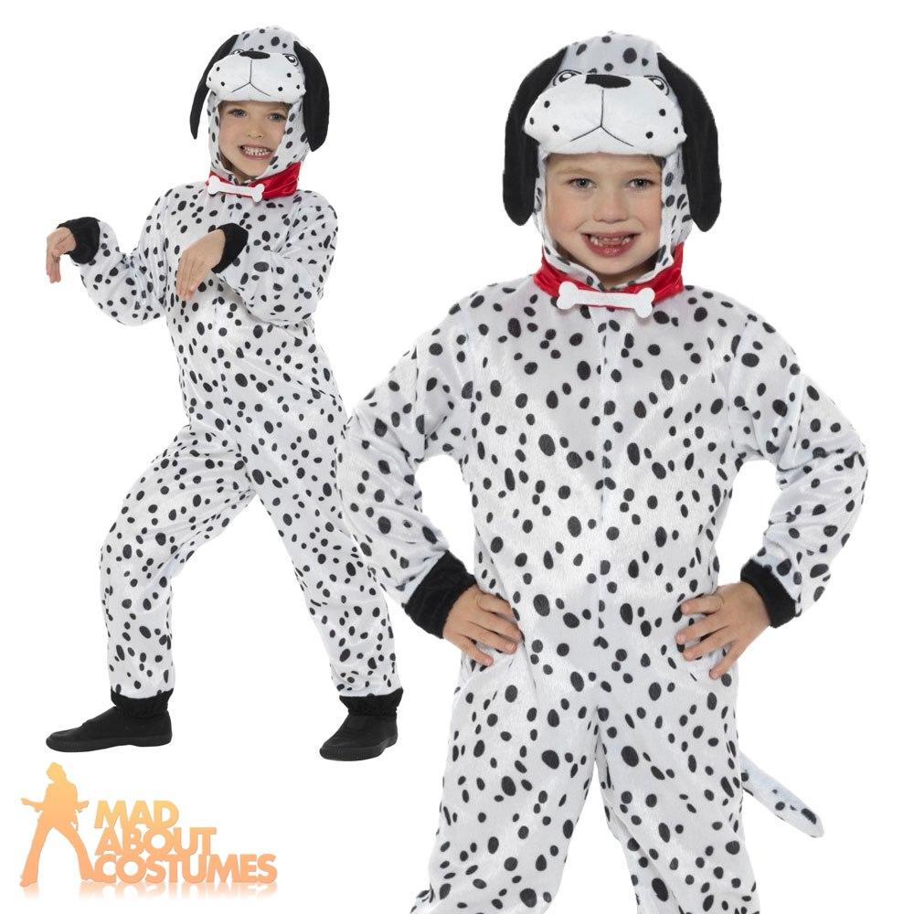 Kids-Dalmatian-Costume-Book-Week-Day-Fancy-Dress-  sc 1 st  eBay & Kids Dalmatian Costume Book Week Day Fancy Dress Boys Girls Dog ...