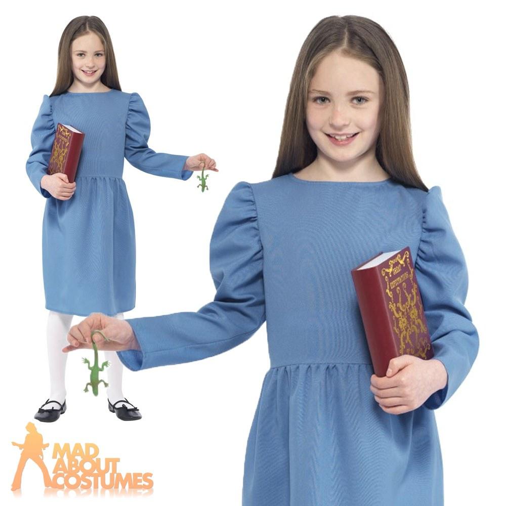 Roald-Dahl-Matilda-Story-World-Book-Day-Week-Girls-Childrens-Fancy-Dress-Costume