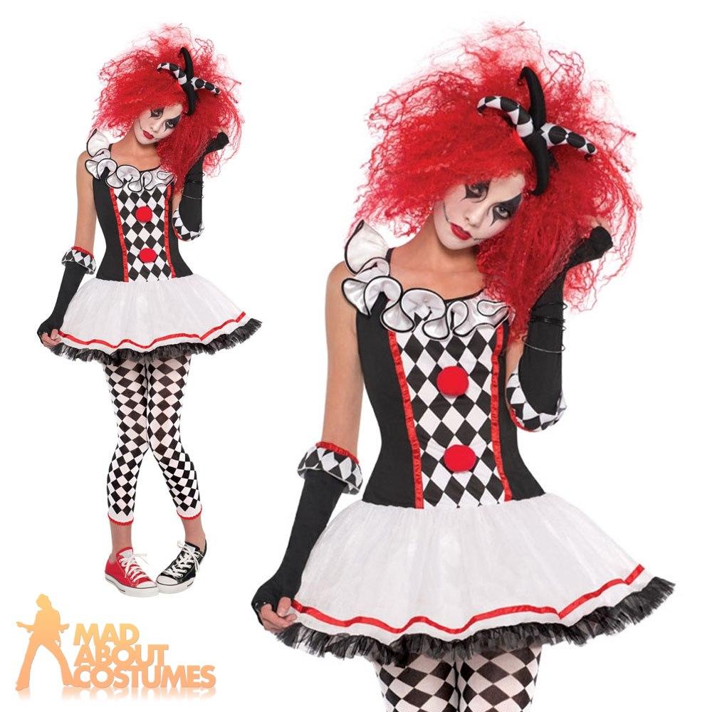 Sexy jester halloween costume