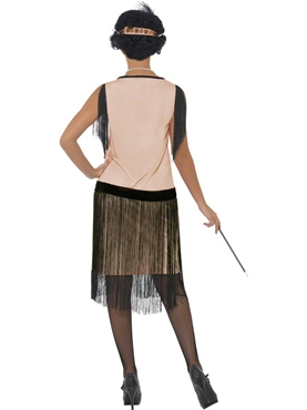 1920's Coco Flapper Fancy Dress Costume by Smiffy's - Image 2
