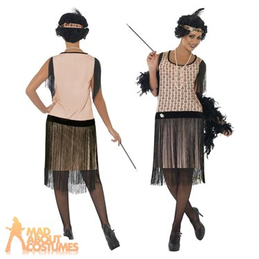 1920's Coco Flapper Fancy Dress Costume by Smiffy's