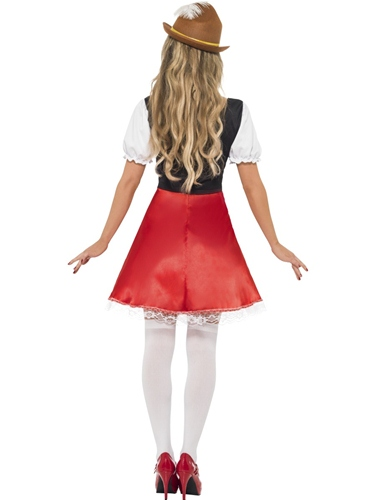 Bavarian Wench Fancy Dress Costume by Smiffy's - Image 2