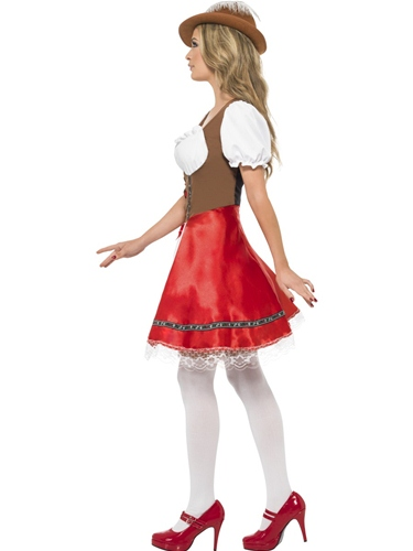 Bavarian Wench Fancy Dress Costume by Smiffy's - Image 1