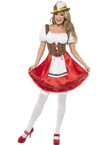 Bavarian Wench Fancy Dress Costume by Smiffy's