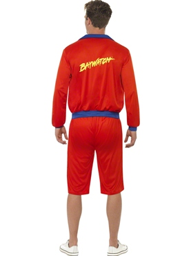 Baywatch Beach Men's Lifeguard Fancy Dress Costume by Smiffy's - Image 2