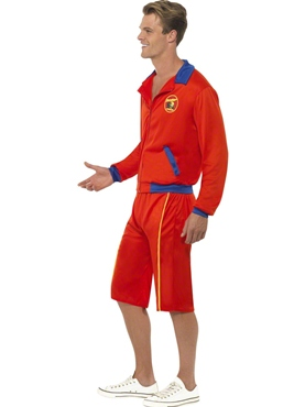 Baywatch Beach Men's Lifeguard Fancy Dress Costume by Smiffy's - Image 1