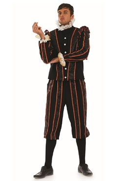 Adult Blackadder Tudor Fancy Dress Costume by Fun Shack