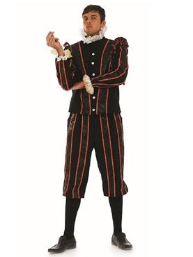 Adult Blackadder Tudor Fancy Dress Costume by Fun Shack
