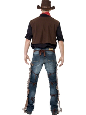 Cowboy Fancy Dress Costume by Smiffy's - Image 2
