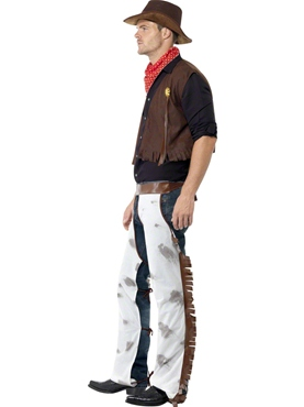 Cowboy Fancy Dress Costume by Smiffy's - Image 1