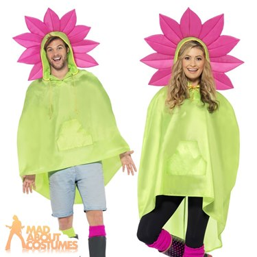 Parrot Party Poncho Festival Fancy Dress Costume by Smiffy's - Image 2