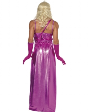miss monde Fancy Dress Costume Stag Party Drag Prom Queen Costume Med M