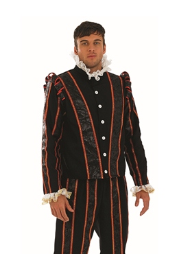 Adult Blackadder Tudor Fancy Dress Costume by Fun Shack - Image 1