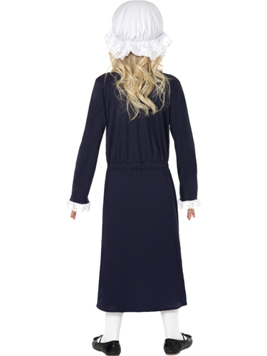 Victorian Poor Girl Fancy Dress Costume by Smiffys - Image 2