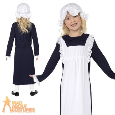 Victorian Poor Girl Fancy Dress Costume by Smiffys
